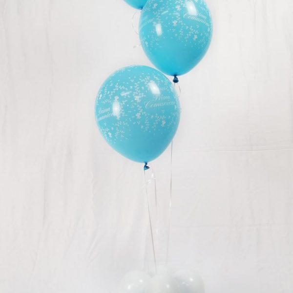 Centrotavola e ciuffi di palloncini